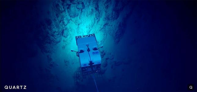 Mélytengeri kutatás